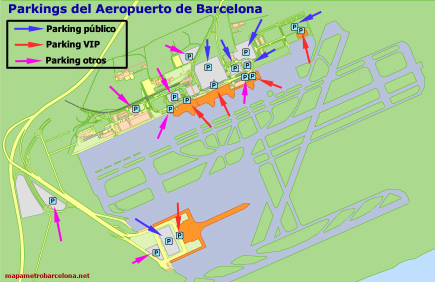Barcelona Airport Map My Blog: Airport In Barcelona Spain Map At Infoasik.co